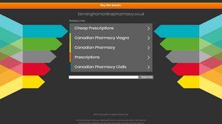 Birmingham Online Pharmacy