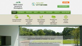 M & W Gardening & Fencing Services