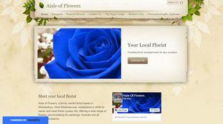 Aisle of Flowers