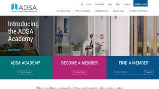 Automatic Door Suppliers Association Ltd