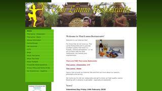 Thai Lanna - Chasewater