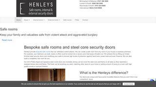 Henleys Security Doors