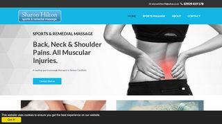 Sharon Hilton Sports Massage