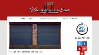 Hammond & Sons Garage Door Services