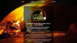 Pala Wood Fired Pizza