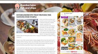 Chamberlains Fish & Chips Restaurants Ltd