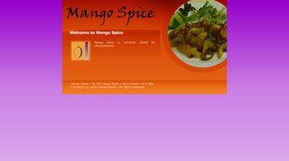 Mango Spice