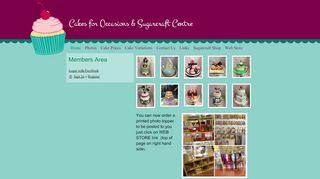 Cakes For Occasions & Sugarcraft Centre